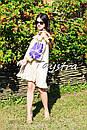 Платье с воланами вышиванка лен бохо шеби шик, вишите плаття вишиванка рюши, фото 8