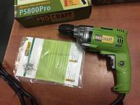 Дрель электрическая Procraft PS-800Pro без ударная
