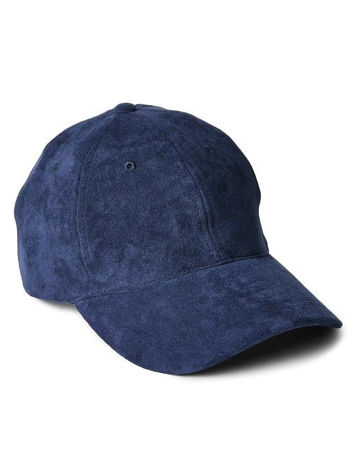 GAP VINTAGE NAVY бейсболка синяя замш оригинал