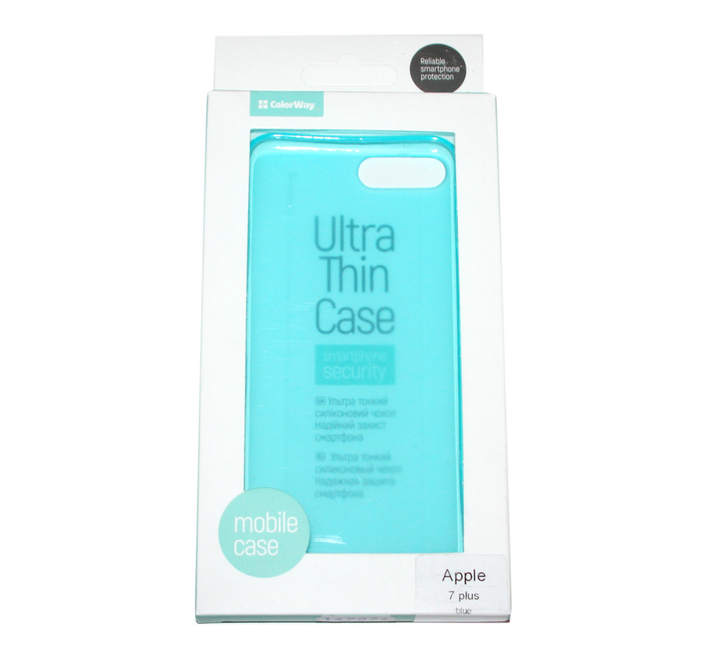 Бампер для iPhone 7 Plus, ColorWay, Blue (CW-CTPAI7P-BL)