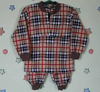 Детская теплая пижама для мальчика флис р.22,24,26,28,30,32,34