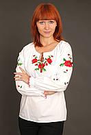 "Вышиванка женская ""Маки Даша з бутонами"" ( арт. BK1-15.3.1 ), фото 1"