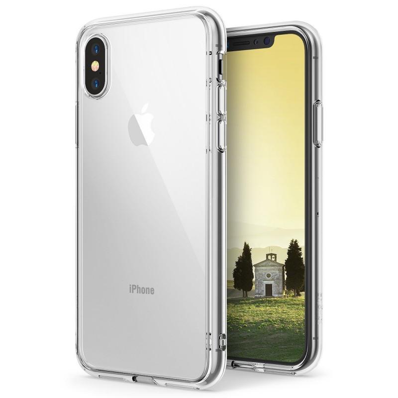 Бампер для iPhone X, Ringke Fusion, Clear (RCA4387)