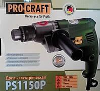 Дрель электрическая Procraft PS-1150P без ударная 1200 об/м