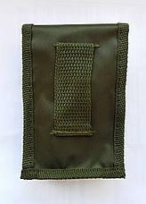 Столовый набор нож вилка ложка цвет армейский зеленый, фото 3