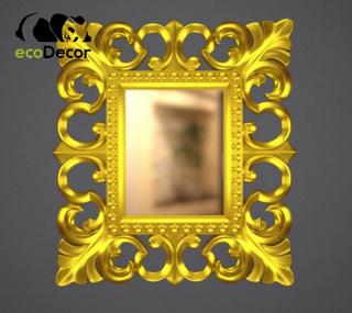 Зеркало настенное Santo в золотой раме