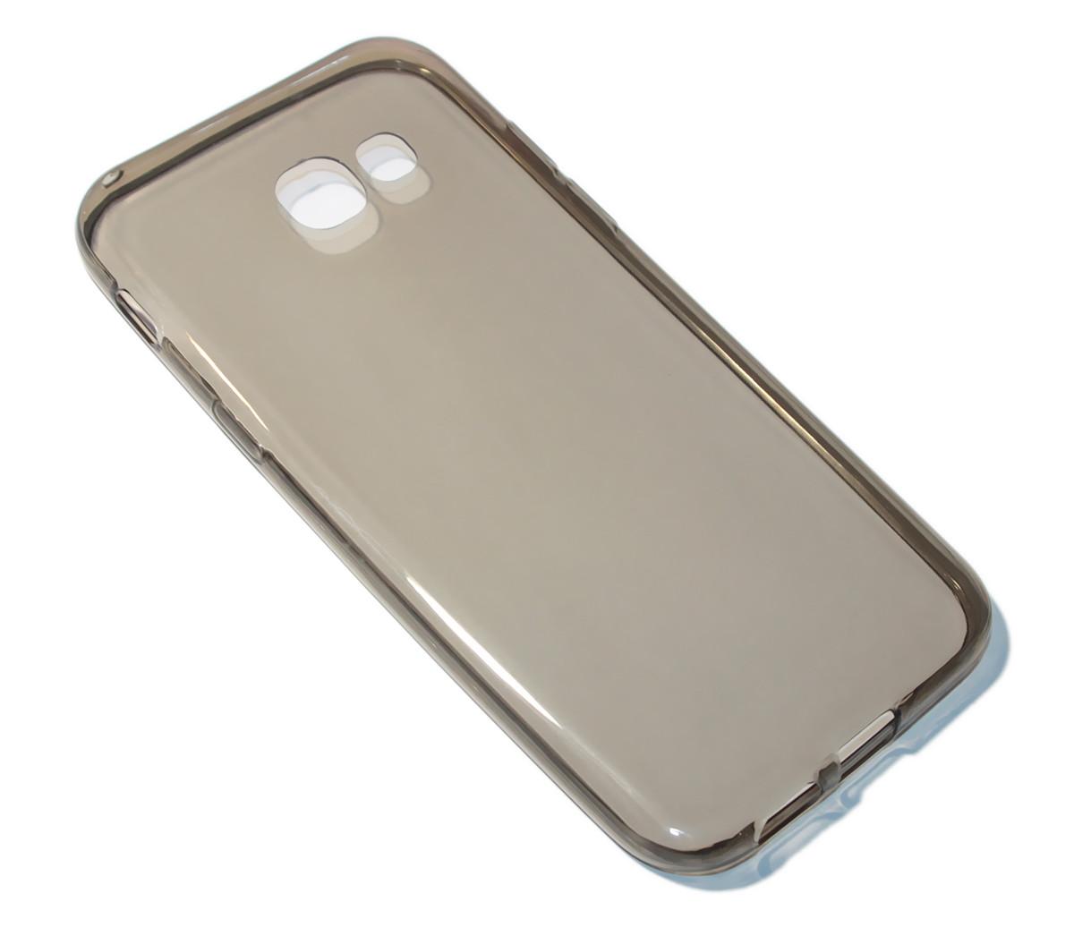Накладка силиконовая для смартфона Samsung A5 (2017)/ A520 Dark Transparent - Sale365 в Николаеве