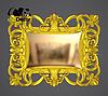 Зеркало настенное Domingo в золотой раме, фото 2