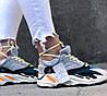 Женские кроссовки Adidas Yeezy Wave Runner 700 Grey Адидас Изи Буст 700 серые, фото 3