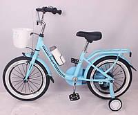 """Велосипед """"CASPER-16"""" Blue Сборка 85%, фото 1"""