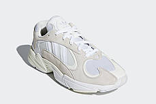 "Кроссовки Adidas Yung 1 Cloud ""White/Footwear White"" (Белые), фото 2"