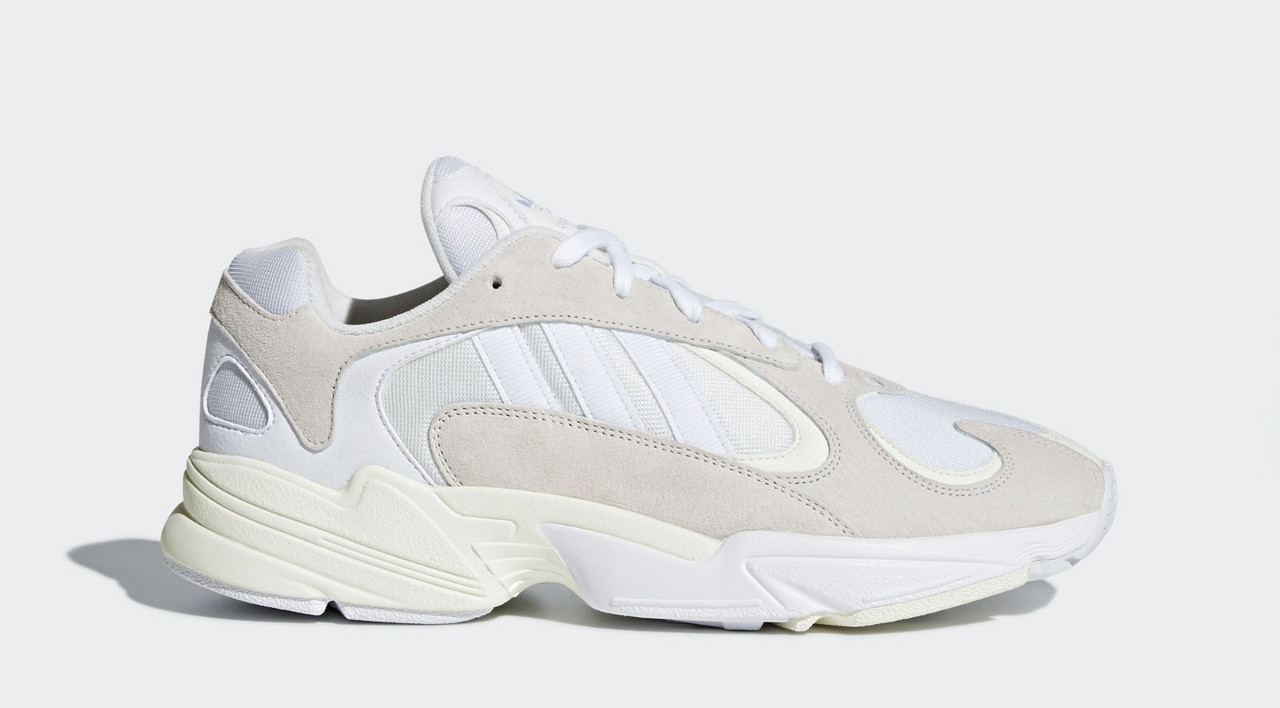 "Кроссовки Adidas Yung 1 Cloud ""White/Footwear White"" (Белые)"