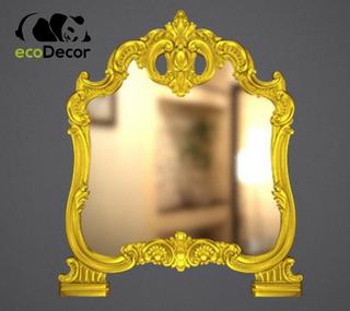 Зеркало настенное Rotterdam в золотой раме