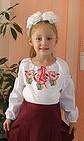 "Вишиванка дитяча ""Мальви"" ( арт. BA1-52.8.1 ), фото 1"