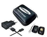 Оригинальное зарядное устройство Samsung с кабелем Micro USB в футляре-органайзере, фото 1