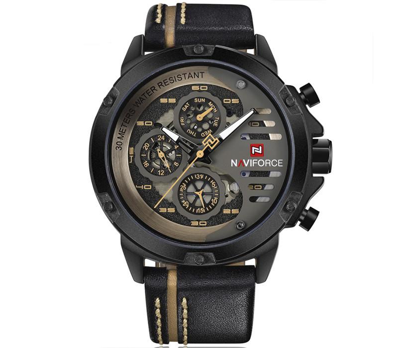 Мужские часы Naviforce 9110 - гарантия 12 месяцев