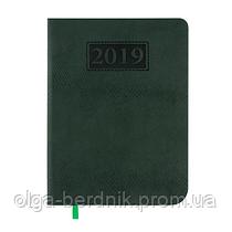 Ежедневник датированный 2019 AMAZONIA, A5, зеленый, BM.2114-04