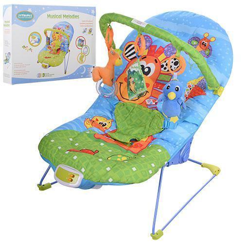шезлонг качалка детский музыкальный 60661a в категории детские