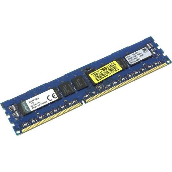 """Оперативная память Kingston DDR3 8GB 1600MHz DIMM KVR16R11D8/8I """"Over-Stock"""" Б/У"""