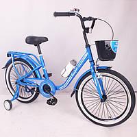 "Велосипед ""CASPER-20"" Blue Сборка 85%"