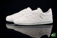 Мужские кроссовки Adidas Gazelle white (адидас, реплика) (реплика), фото 1