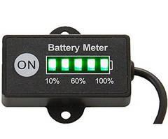 Индикатор уровня заряда аккумулятора светодиодный индикатор батареи 12/24 V RL-BI005