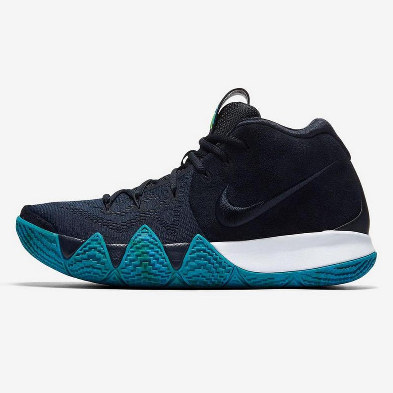 dcf536d6 баскетбольные кроссовки Nike Kyrie 4 Obsidian 943806 401 в стиле