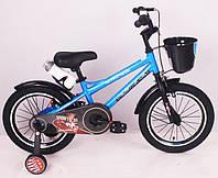 """Детский двухколесный Велосипед """"SPEED FIEIDS-16"""" Blue , фото 1"""