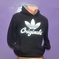 Мужская толстовка Adidas  черного цвета