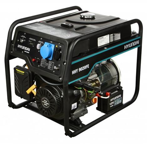 Генератор бензиновый Hyundai HHY 9020FE (6,5 кВт)