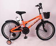 """Детский двухколесный велосипед  """"SPEED FIEIDS-20"""" Orange , фото 1"""
