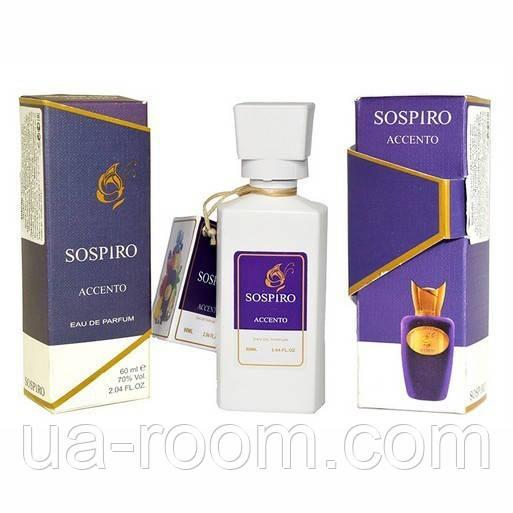 Мини-парфюм 60 мл. Sospiro Perfumes Accento