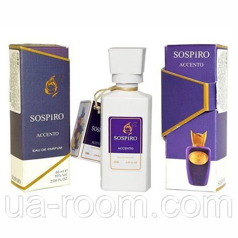 Мини-парфюм 60 мл. Sospiro Perfumes Accento, фото 2