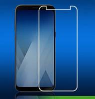 Защитное противоударное стекло King Fire на экран для Samsung Galaxy A8+ Plus 2018, фото 1