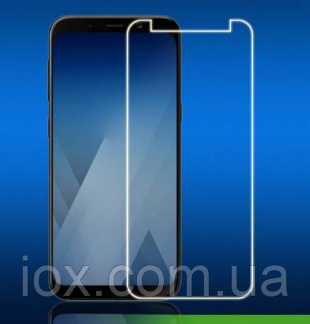 Защитное противоударное стекло King Fire на экран для Samsung Galaxy A8+ Plus 2018