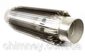Радіатор димохідна труба 140мм товщина 1,0 мм/430
