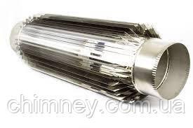 Радіатор димохідна труба 120мм товщина 0,8 мм/304