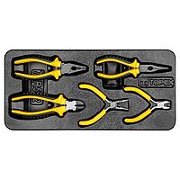 Шарнирно-губцевый инструмент, набор 5 шт, TOPEX