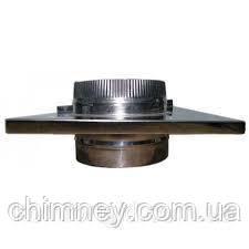 Дымоходная разгрузочная  платформа 140 мм нержавейка