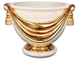 """Кашпо, ваза декоративна """"Вінтаж"""" Італія 334-010"""