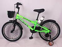 """Детский двухколесный велосипед  """"SPEED FIEIDS-20"""" Green, фото 1"""