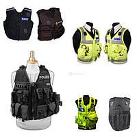 MIX полицейских разгрузочных жилетов. Великобритания, оригинал.
