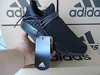 Мужские кроссовки Adidas NMD Human Race. Аутентичная копия. Черные,