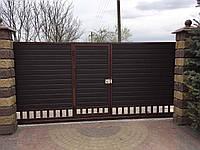 Відкатні ворота /  Откатные ворота