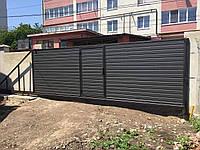 Відкатні ворота власного виробництва фірми VOROTA-IF