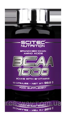 SciTec BCAA 1000 - 100 caps