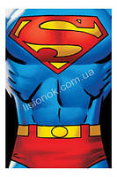 Флисовый плед Супер-мен от DC Comics 100*150см в кроватку, коляску, коврик для игр