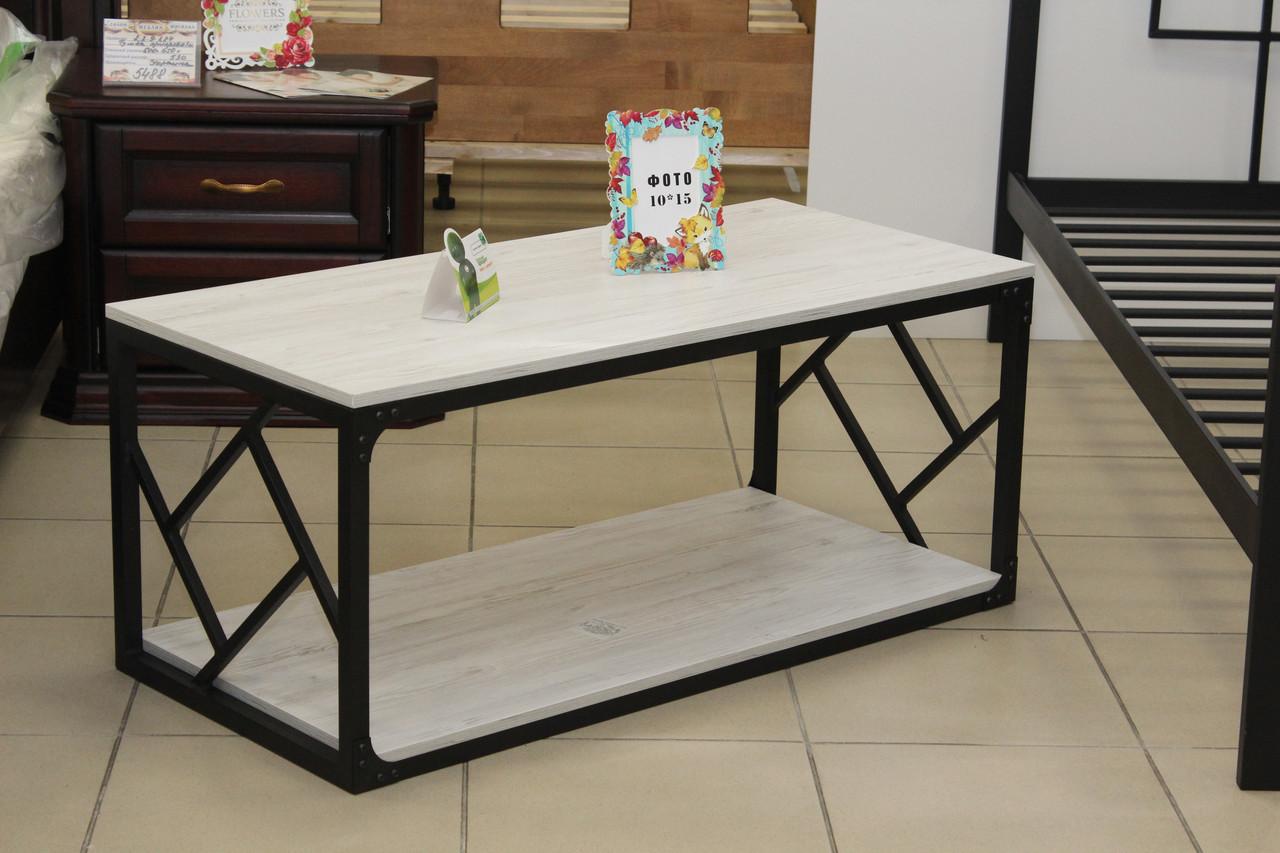 столик журнальный в стиле лофт стильный дизайн экологически