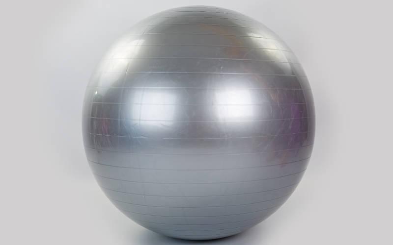 Мяч для фитнеса (фитбол) 85см Zelart  FI-1982-85 (цвета: серый, мятный), фото 2