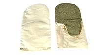 Рукавиці  комбіновані (х/б) з брезентовим налодонником